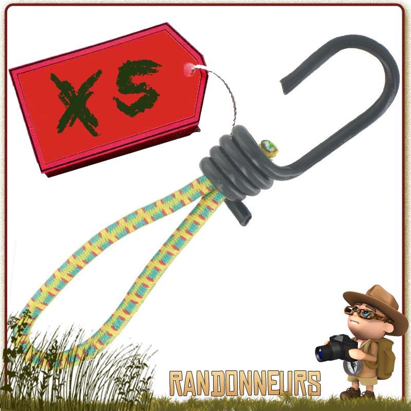Tendeur plat elastique sandow /à crochets 3 m/ètres