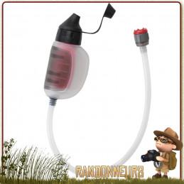 filtre portable TrailShot de MSR est novateur dans le sens où il s'agit d'un filtre eau de randonnée léger et compact