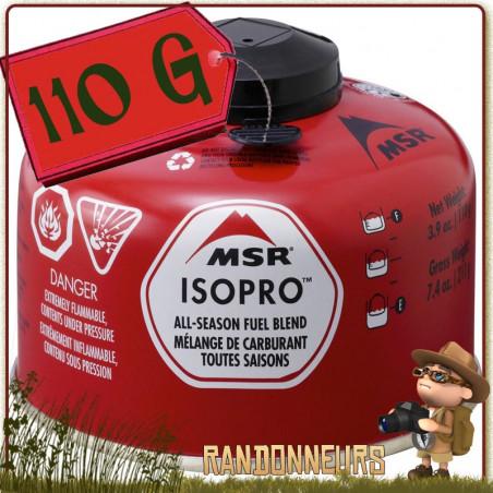 Cartouche de Gaz IsoPro 110g MSR