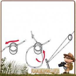 MSR, le choix des accessoires pour tente randonnée légère MSR, Kit de Corde Réfléchissante Multi Usage