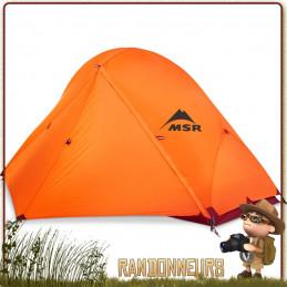 TENTE ACCESS 1 MSR Orange haute montagne 4 saisons robuste spacieuse et ultra légère pour trekking