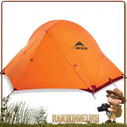 TENTE MSR ACCESS 2 Orange 4 saisons trekking en montagne résistante au vent neige pour randonner léger