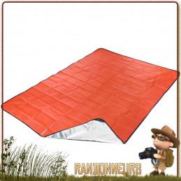 couverture de survie tarp all season SOL Survive Outdoors Longer se protéger du froid, tarp abri survie, tapis de sol