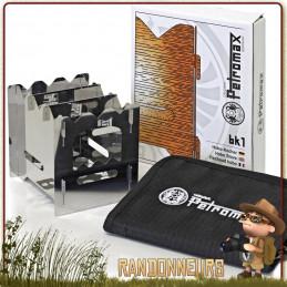 Le réchaud à bois Hobo Stove BK1 Petromax a été conçu pour la randonnée bushcraft survie nature