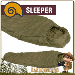 Sac de couchage SLEEPER EXTREME Snugpak Fibres isolantes synthétiques creuses bivouac bushcraft