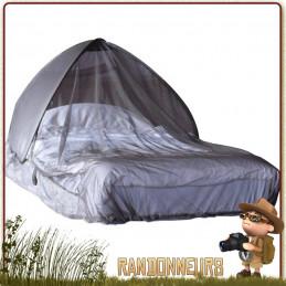 Moustiquaire dôme imprégnée CarePlus protection anti-moustiques efficace sur votre matelas ou lit de camp