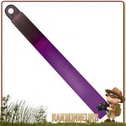 Bâton de Signalisation violet Rothco éclairage vif puissant luminescent Autonomie de 8 heures