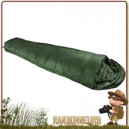 Sac de Couchage FLAME Highlander meilleur sac de couchage militaire bivouac bushcraft temperature confort 1 degrés