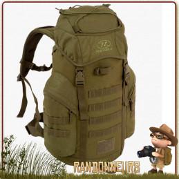 Vert 35ltr Ranger Sac À Dos Bushcraft Randonnée Camping Escalade