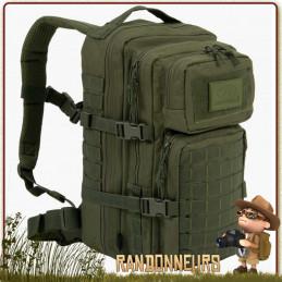 Sac à Dos randonnée bushcraft RECON PACK 28 Litres VERT Highlander