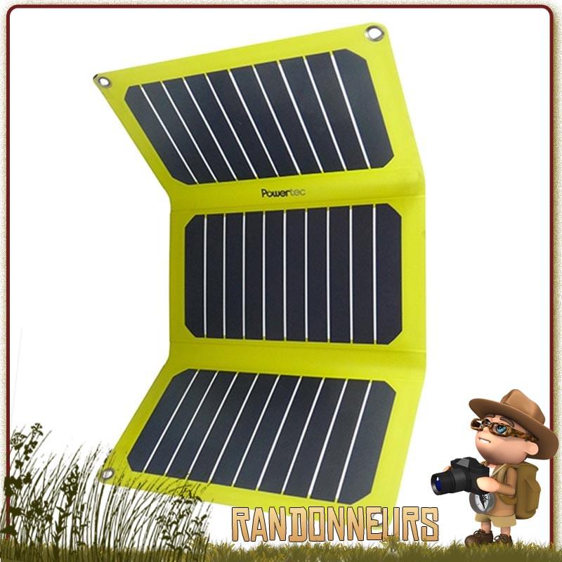power tec chargeur solaire 6.4