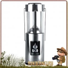 Lanterne Compacte Original Aluminium UCO ultra légère et compacte pour bivouac bushcraft situation survie