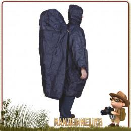 Poncho randonnée Zipper Extension TravelSafe, extension dorsale pour intégrer le sac à dos randonnée légère