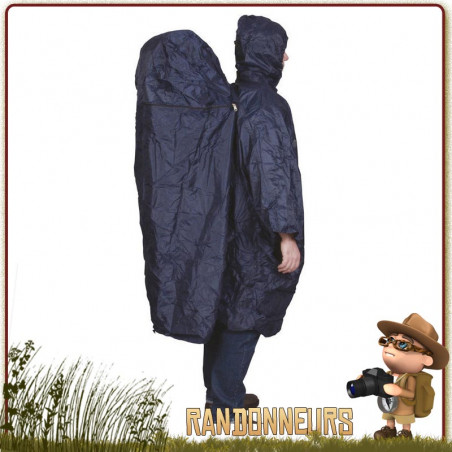 Poncho Zipper Extension Taille LXL Travelsafe