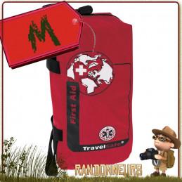Trousse Premiers Soins Vide MEDIUM Travelsafe pour la remplir de votre propre équipement de secours