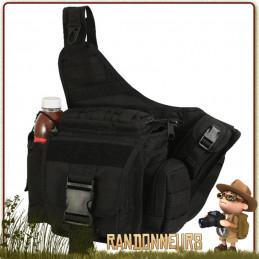 Sac bandoulière Rothco tactique compatible Molle avec multiples rangements et pochettes militaire