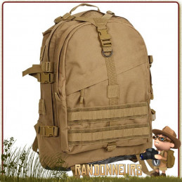 Sac à Dos tactique militaire Large Transport Pack 45L Coyote Rothco france type bushcraft