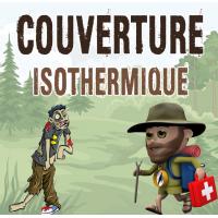 couverture isothermique premiers secours en montagne meilleure couverture isotherme épaisse premiers soins survie randonnee