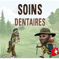 kit de soins dentaires dentapass randonnee trousse premiers secours dentaire carie de voyage survie