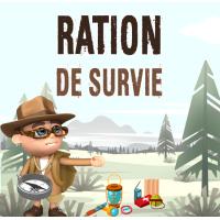 ration de survie alimentaire kit survie aliments longue durée conservation stock alimentaire survivaliste rations armée française