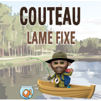 Couteau Lame Fixe