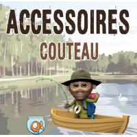 Accessoires pour Couteau étui cuir kydex poignard bushcraft survie chaine pour couteau poche suisse mousqueton clip ceinture tranchant