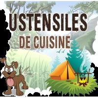 Ustensiles de Cuisine bivouac bushcraft pince preneuse alu ouvre boite camp randonnée camping