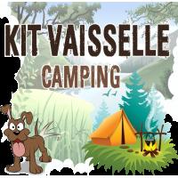 kit vaisselle de camping ensemble complet set vaisselle bivouac complet vaisselle trekking camp bushcraft nature