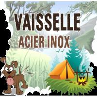 Vaisselle Camping Inox