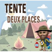 Tente Deux Places