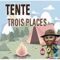 Tente Trois Places