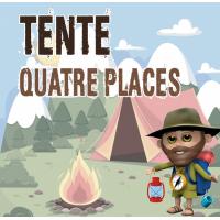 Tente Quatre Places